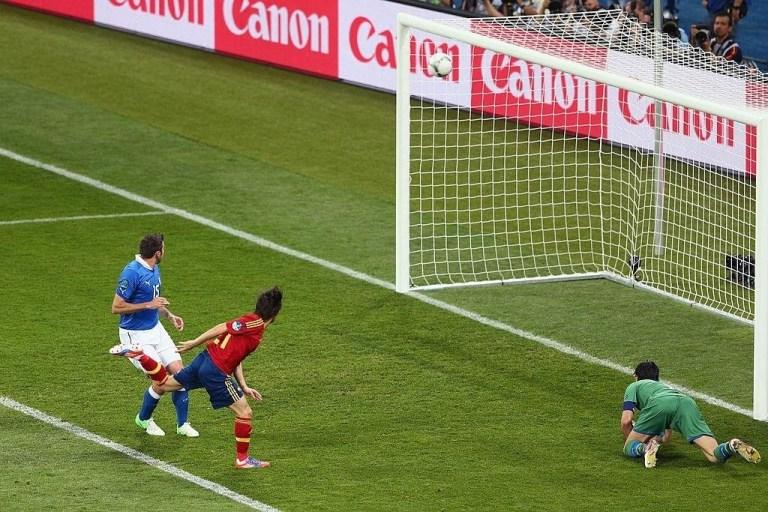 Gol di David Silva