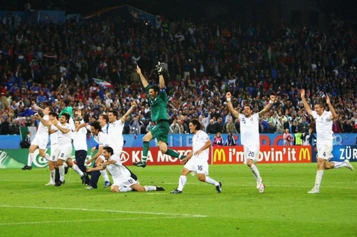Italia Francia Euro 2008