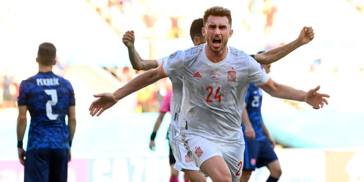 Laporte in gol contro la Slovacchia