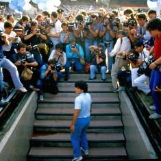 L'arrivo di Maradona al San Paolo
