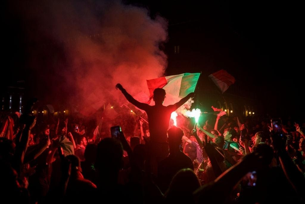 Festeggiamenti in giro per l'Italia