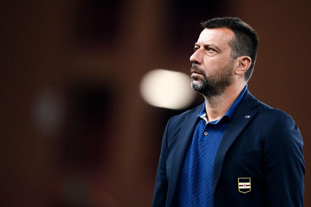 D'Aversa sulla panchina della Sampdoria