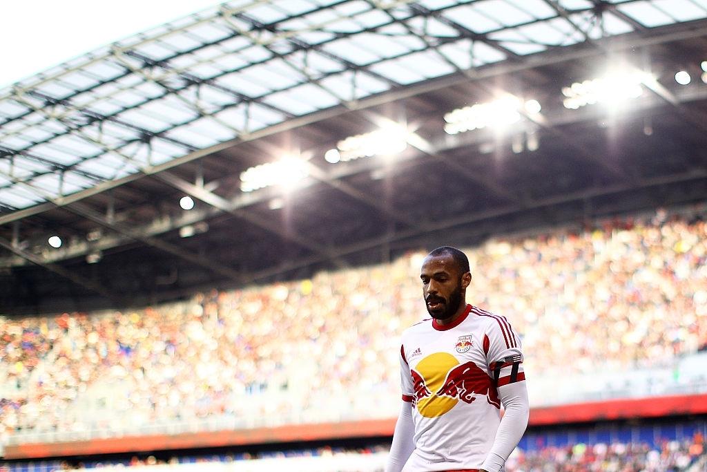 Henry con la maglia della Red Bull