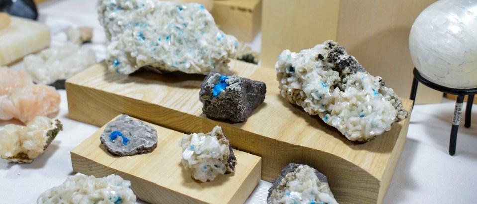 Minerals specimens