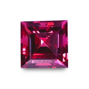 Natural Gemstone, Jewellery, Jewelry, Spinel, Ceylon, Red, Dark Red, Square, Step, The Gem Monarchy, Gem Monarchy, TheGemMonarchy, GemMonarchy, Monarchy, Gems