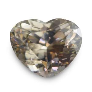 Natural Gemstone, Jewellery, The Gem Monarchy, Gem Monarchy, TheGemMonarchy, GemMonarchy, Monarchy, Gems, Jewelry, Zircon, Ceylon, Colourless, White, Heart, Flower