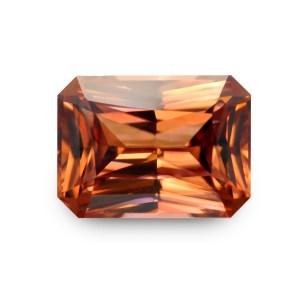 Natural Gemstone, Jewellery, The Gem Monarchy, Gem Monarchy, TheGemMonarchy, GemMonarchy, Monarchy, Gems, Jewelry, Zircon, Ceylon, Pink, Orange, Pinkish Orange, Rectangle