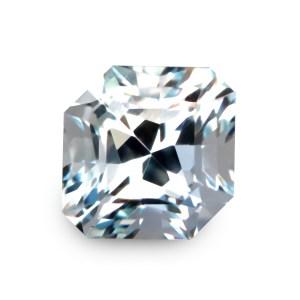 Natural Gemstone, Jewellery, Jewelry, Aquamarine, Beryl, Africa, African, Light, Blue, Light Blue, Square, Fancy