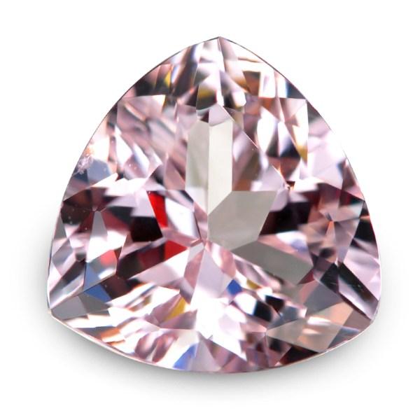 Natural Gemstone, Jewellery, Jewelry, Morganite, Beryl, Africa, African, Light, Pink, Light Pink, Trilliant, Flower, The Gem Monarchy, Gem Monarchy, TheGemMonarchy, GemMonarchy, Monarchy, The Gemstone Monarchy, Gems