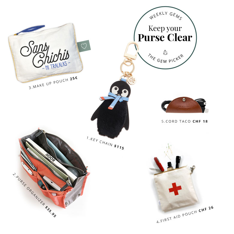 The tools you need to always keep an organized purse