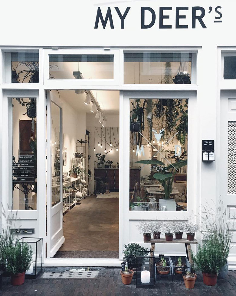 Coolest boutique my deer's store in Haarlem. Perfect for gift shopping or decor gems