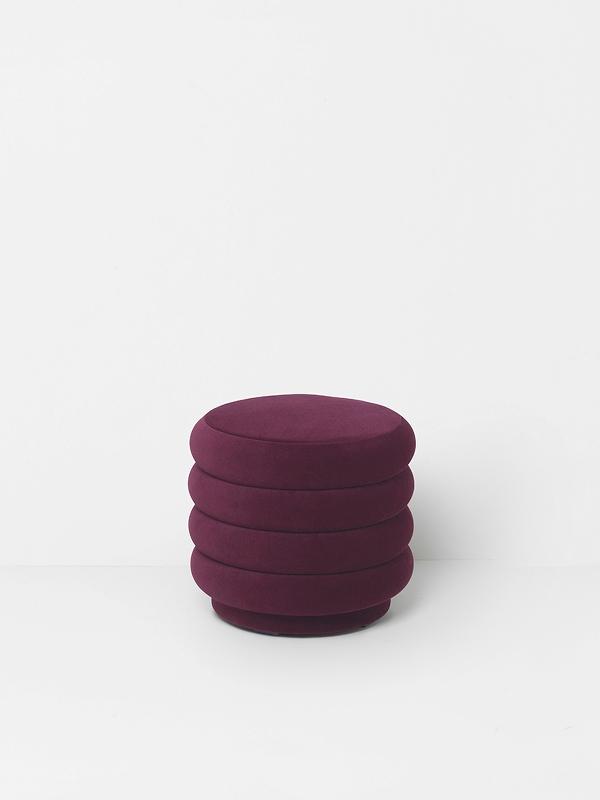 7 past trends - A shopping selection - ferm living velvet pouf