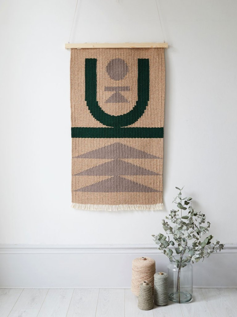A world of beautiful and graphical hand woven rugs by Christabel Balfour