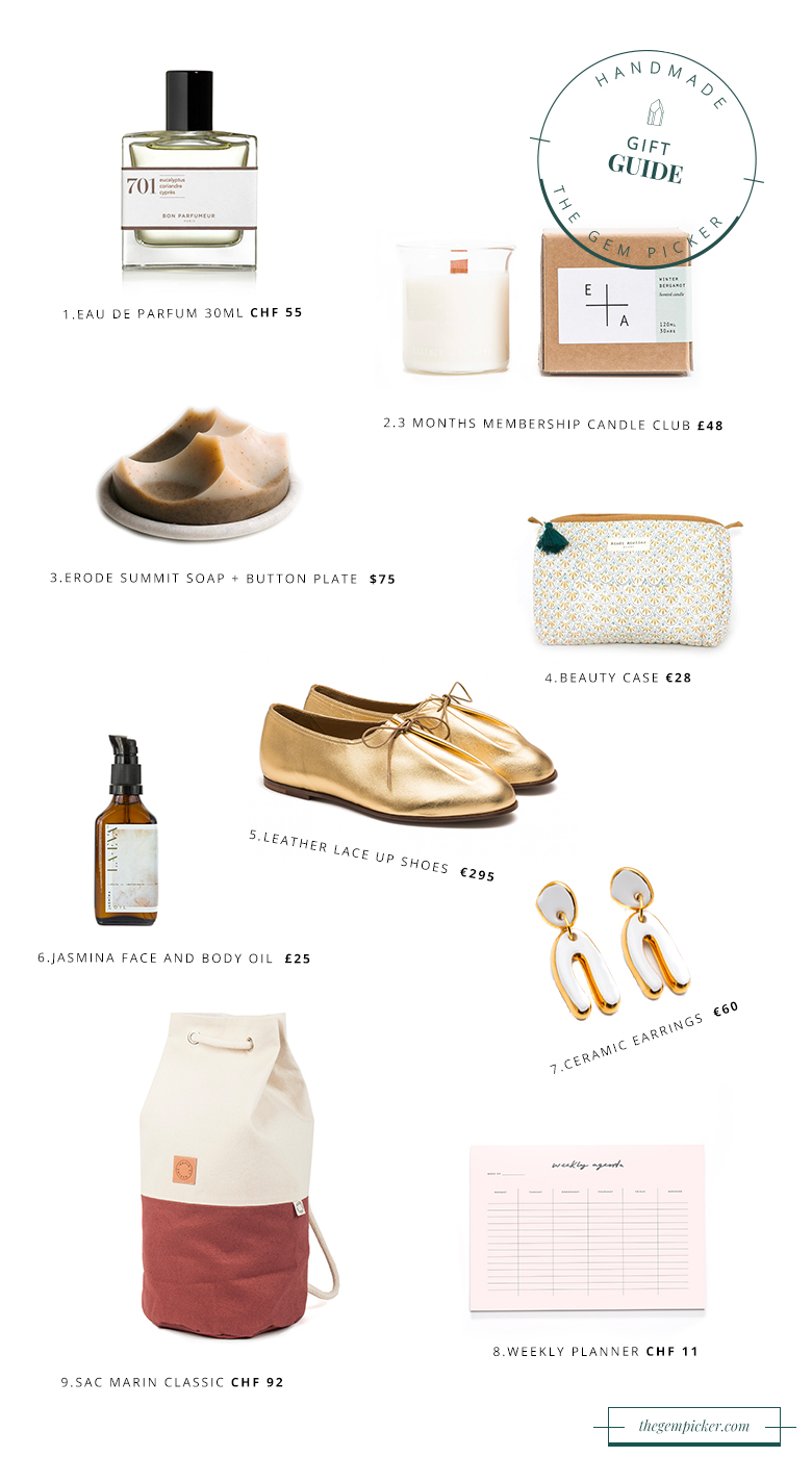 Gift Guide : Handmade gifts for your sister