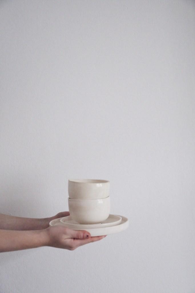 Ceramic Studio Maitoinen - plates with bowls
