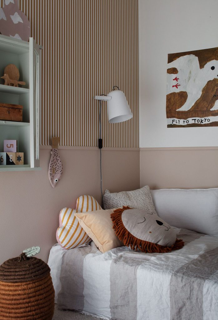 Decorating with wallpaper sandberg estelle mustard