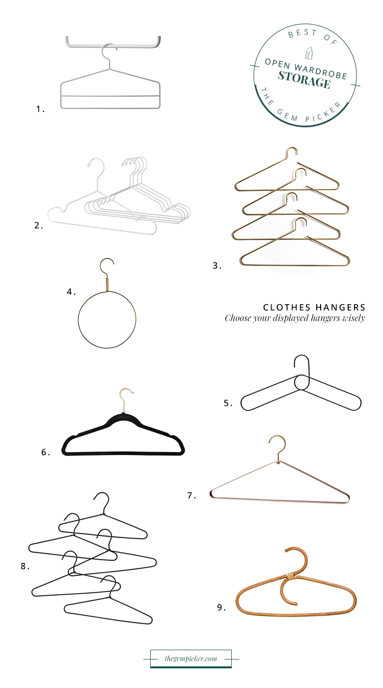 storage essential open wardrobe hangers