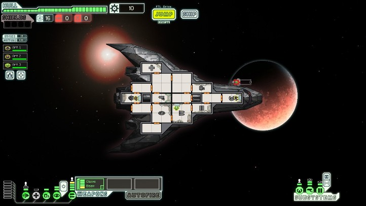 FTL: Faster Than Light Screenshot - pixel art analysis - Subset Games