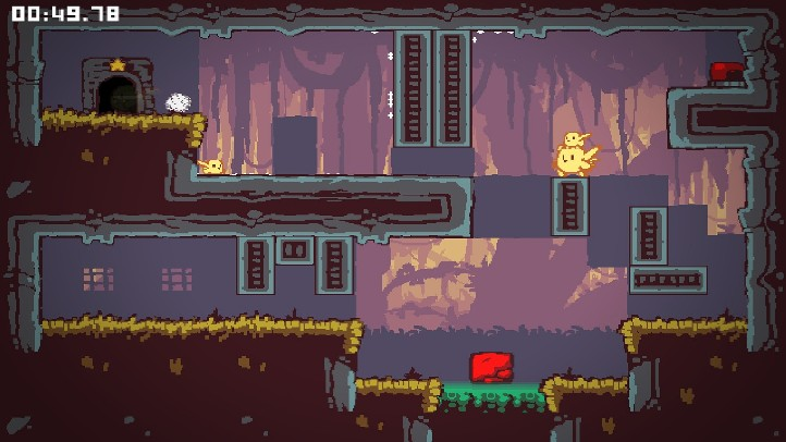 Offspring Fling! screenshot in-game - difficult platformer - Kyle Pulver