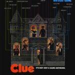Clue movie poster - parody, mystery genre