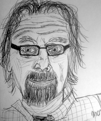 Michael Parks Sketch by M.R.P. - Red State, recommendation, Kevin Smith