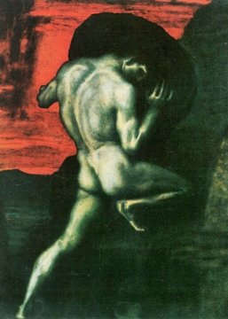 Sisyphus by Franz Stuck - Thomas Nagel - final outcome argument - absurdity - meaning