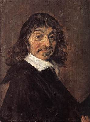 Portrait of René Descartes by Frans Hals - radical skepticism - superknowledge