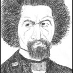 Frederick Douglass Sketch by M.R.P. - autobiography, sincerity, community