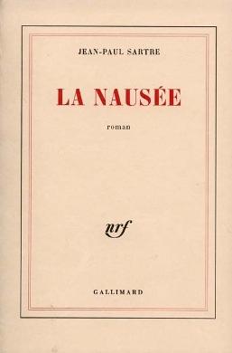 Nausea book cover - Jean-Paul Sartre - philosophy, symbolism, literature