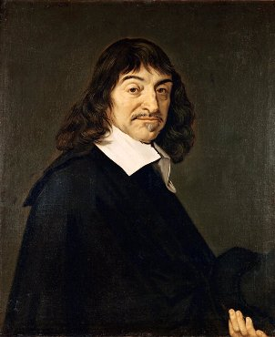 Portrait of René Descartes after Frans Hals - beliefs, minimizing assumptions