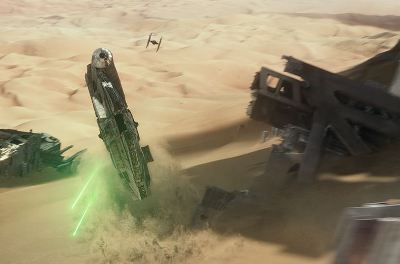 Star Wars Episode VII: The Force Awakens Jakku chase scene - J.J. Abrams - pacing criticism
