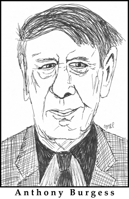 Anthony Burgess Sketch by M.R.P. - A Clockwork Orange - bad last chapter 21