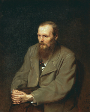 Portrait of the Writer Fyodor Dostoyevsky by Vasily Perov - current-year argument - Anti-vaxxers and vaccines - logic and argumentation