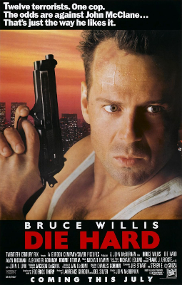 Die Hard movie poster - Who Killed Captain Alex? - Nabwana IGG - Uganda, action movie, theatre, cult film