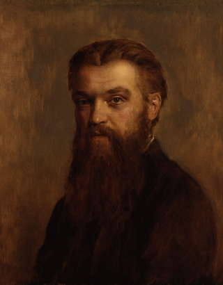 William Kingdon Clifford by John Collier - scientific defense of panpsychism - evolution, biology, gravity, electricity