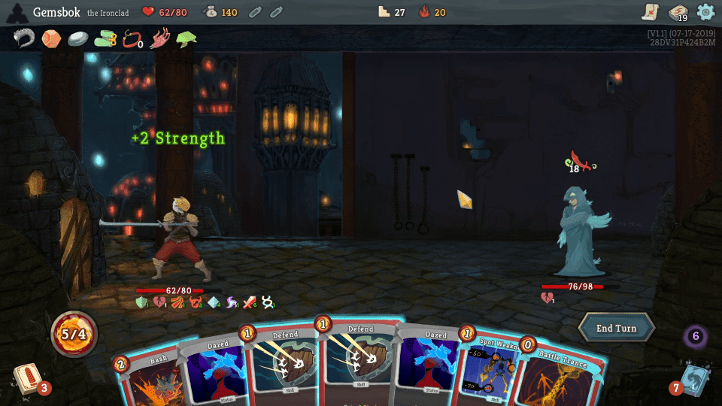 Slay the Spire screenshot with Ascension 20