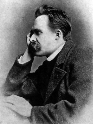 Friedrich Nietzsche (Photo by Gustav-Adolf Schultze) - philosophy of education - internet - The Gemsbok