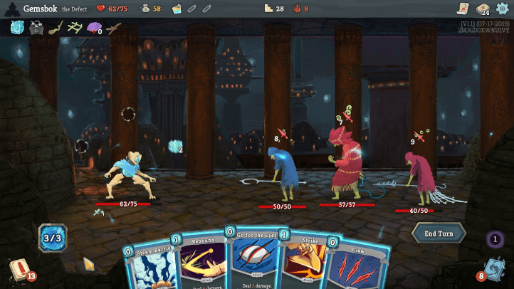 Slay the Spire screenshot - Infinifactory, Zachtronics - games as art, definition of art