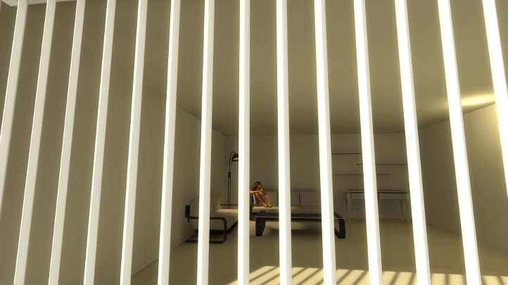 The Beginner's Guide screenshot with crying imprisoned woman - Davey Wreden, analysis, critique