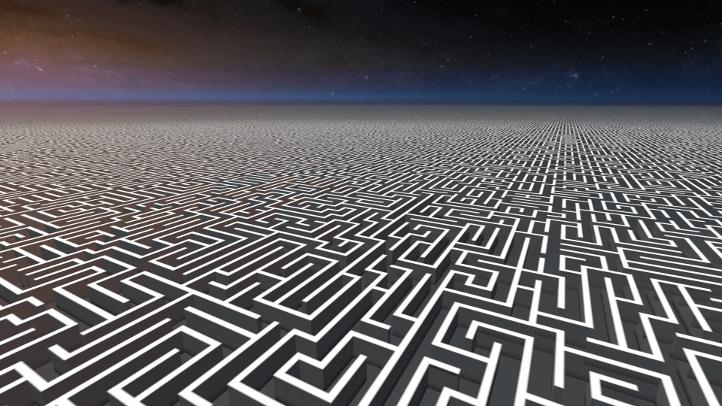 The Beginner's Guide screenshot with final labyrinth - Davey Wreden, analysis, critique