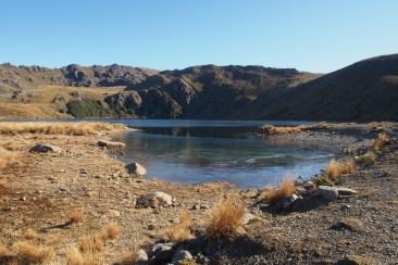 Lake Sylvester Hut.