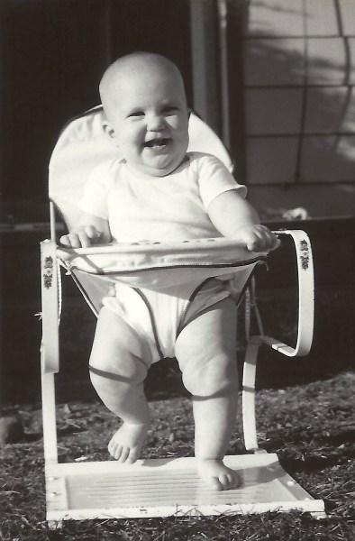 Debbie, September 1955