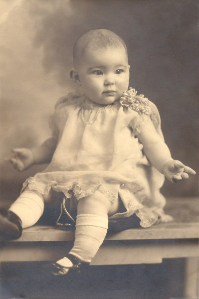 Charlotte Whitesides Beck - about 1year