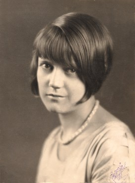 Estelle Maffit, about 1928