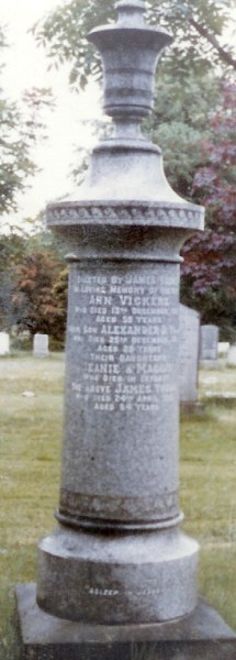 Young & Vickers Memorial