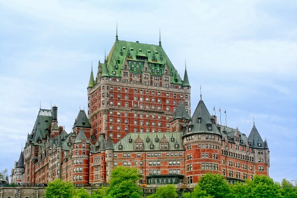 Chateau Frontenac, Quebec City.  Image found here and used under the Creative Commons License.