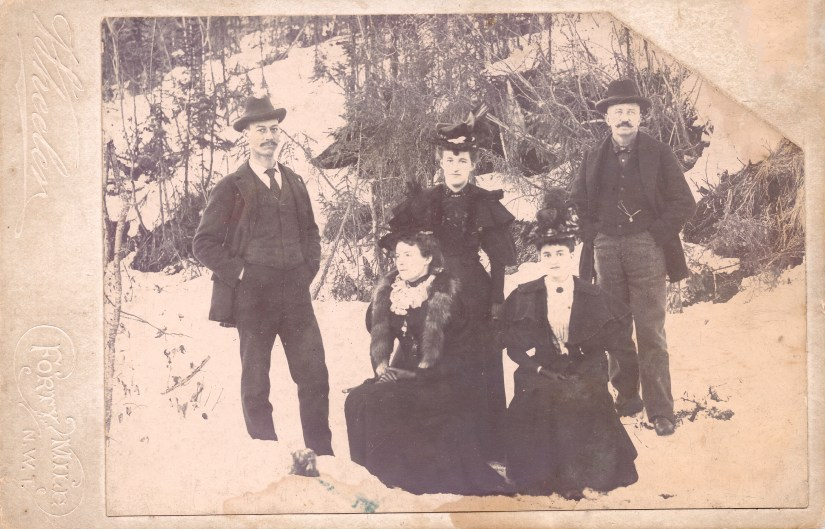HYDE family, in Alaska