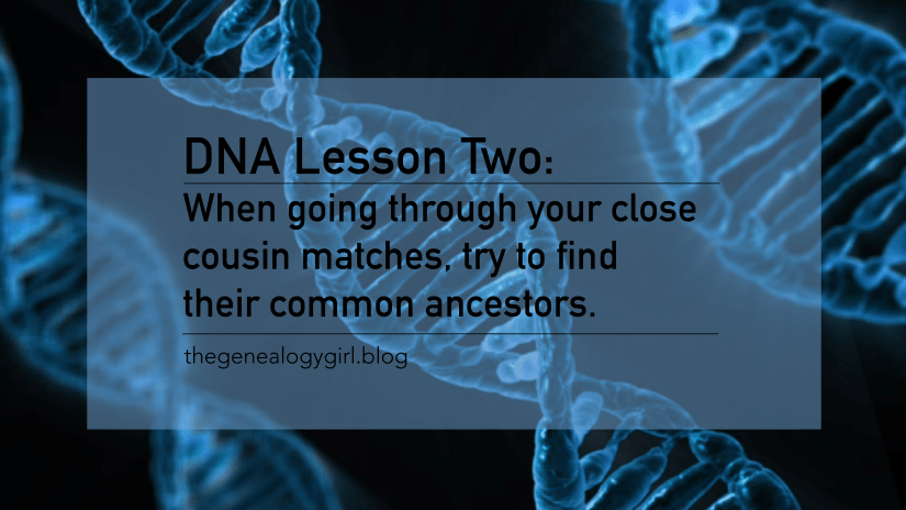 DNA Discovery, lesson two