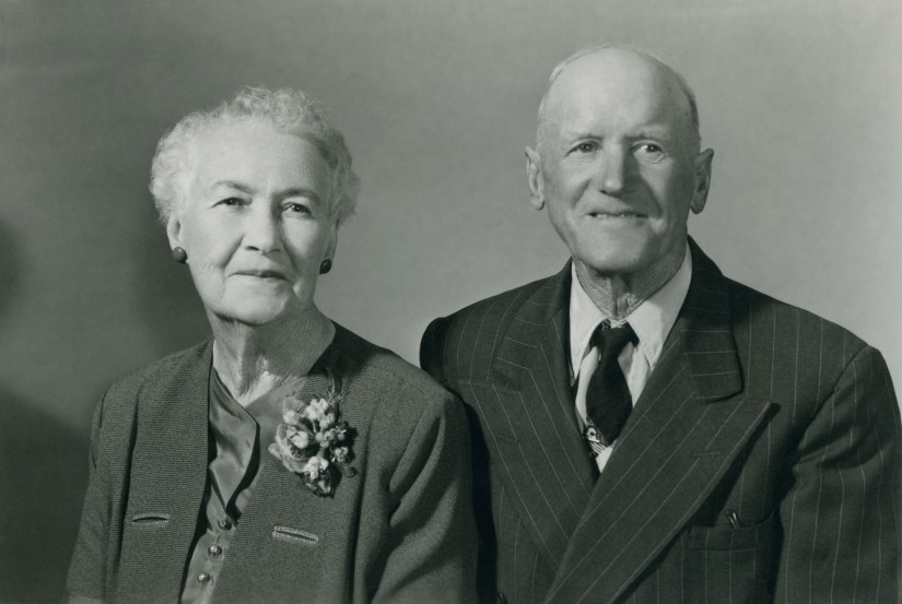 Joseph & Julia Ellis, 60th wedding anniversary