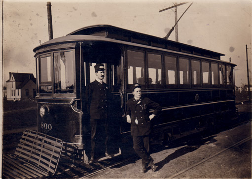 Seth Maffit, Conductor, Chicago, IL, June 6, 1906